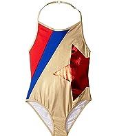 Little Marc Jacobs - One-Piece Star Swimsuit (Little Kids/Big Kids)