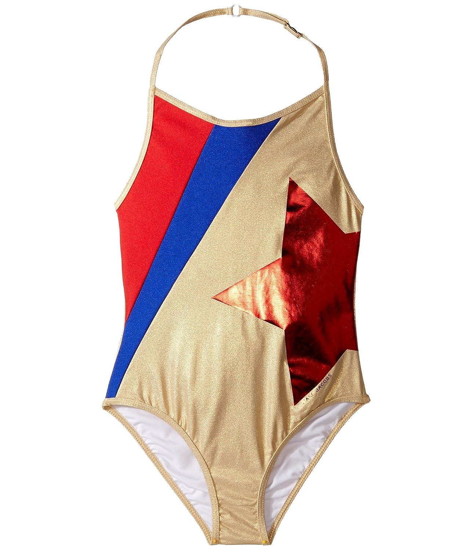 [マークジェイコブス] Little Marc Jacobs レディース One-Piece Star Swimsuit (Little Kids/Big Kids) 水着 [並行輸入品]