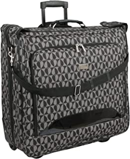 Deluxe Rolling Garment Bag - Hearts Fashion Travel Garment Carrier With Wheels