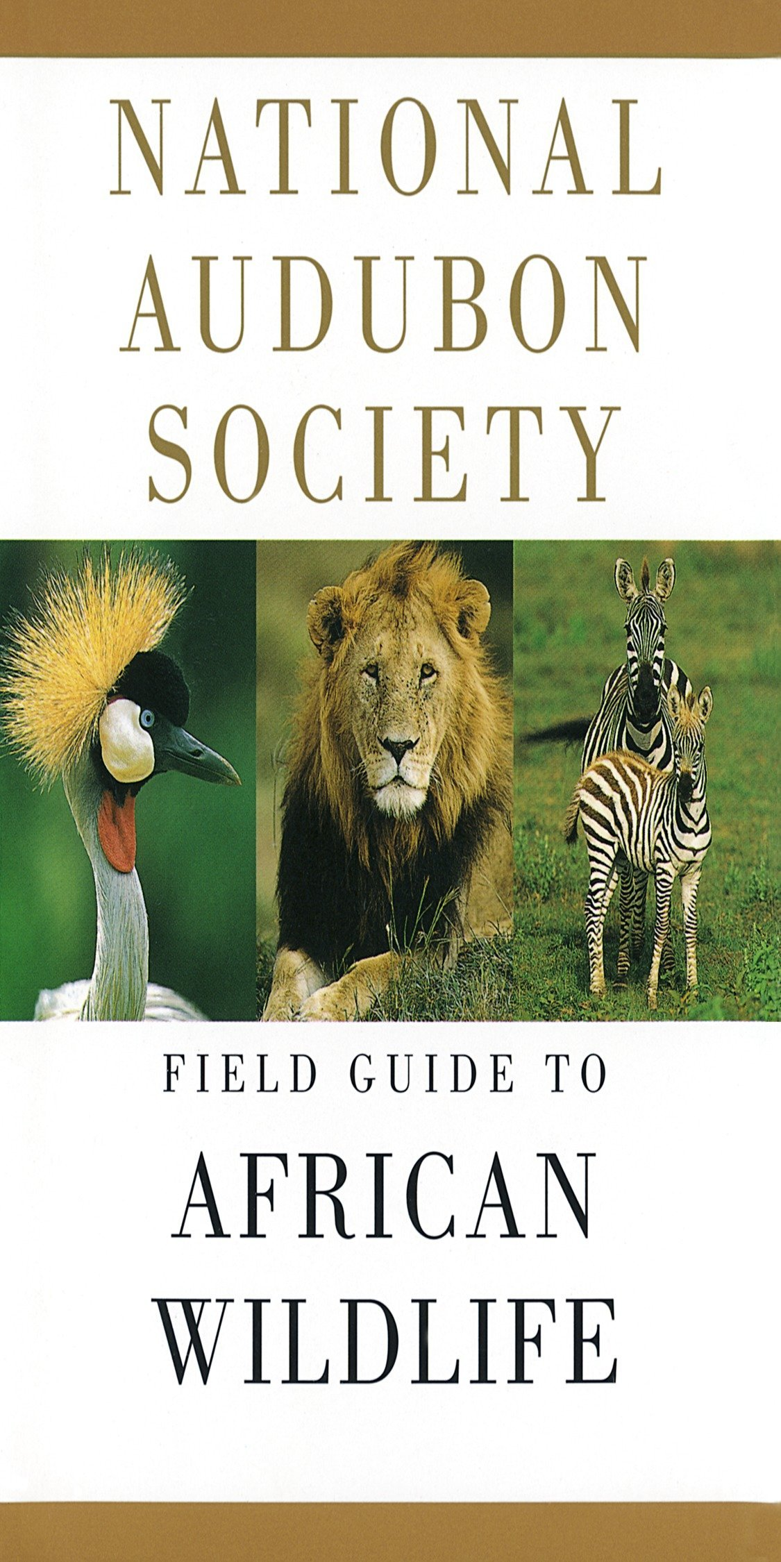 Image OfNational Audubon Society Field Guide To African Wildlife (National Audubon Society Field Guides)