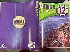 Writing Grammar Worktext Grade 12, third edition