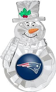 NFL New England Patriots Traditional Snowman Ornament
