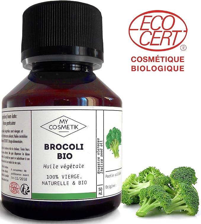Aceite vegetal de Brócoli orgánico Cosméticos - MyCosmetik - 100 ml