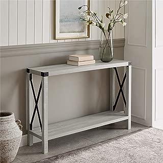 WE Furniture Modern Farmhouse Console Entryway Hall Sofa...