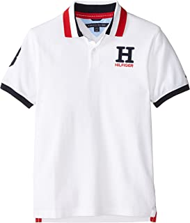Tommy Hilfiger Boys' Little Short Sleeve Solid Matt Polo...