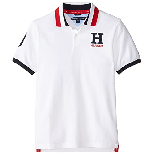 Tommy Hilfiger Boys Little Short Sleeve Solid Matt Polo Shirt