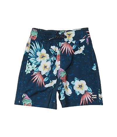 Billabong Kids Sundays Layback Swim Shorts (Toddler/Little Kids) (Navy) Boy