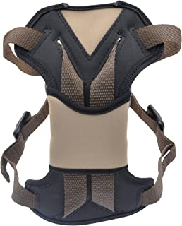 Bergan Safety Auto Harness with Tether, Small, Brown