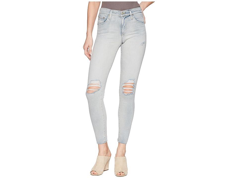 AG Adriano Goldschmied Farrah Ankle in 24 Years Seabird (24 Years Seabird) Women's Jeans, Blue