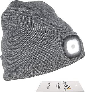 Bue Bonnet DEL Avec Batterie Rechargeable USB Unisexe High Powered Light Lampe