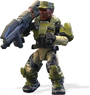 Mega Construx Halo Heroes Legendary Spartans Sgt. Johnson Figure