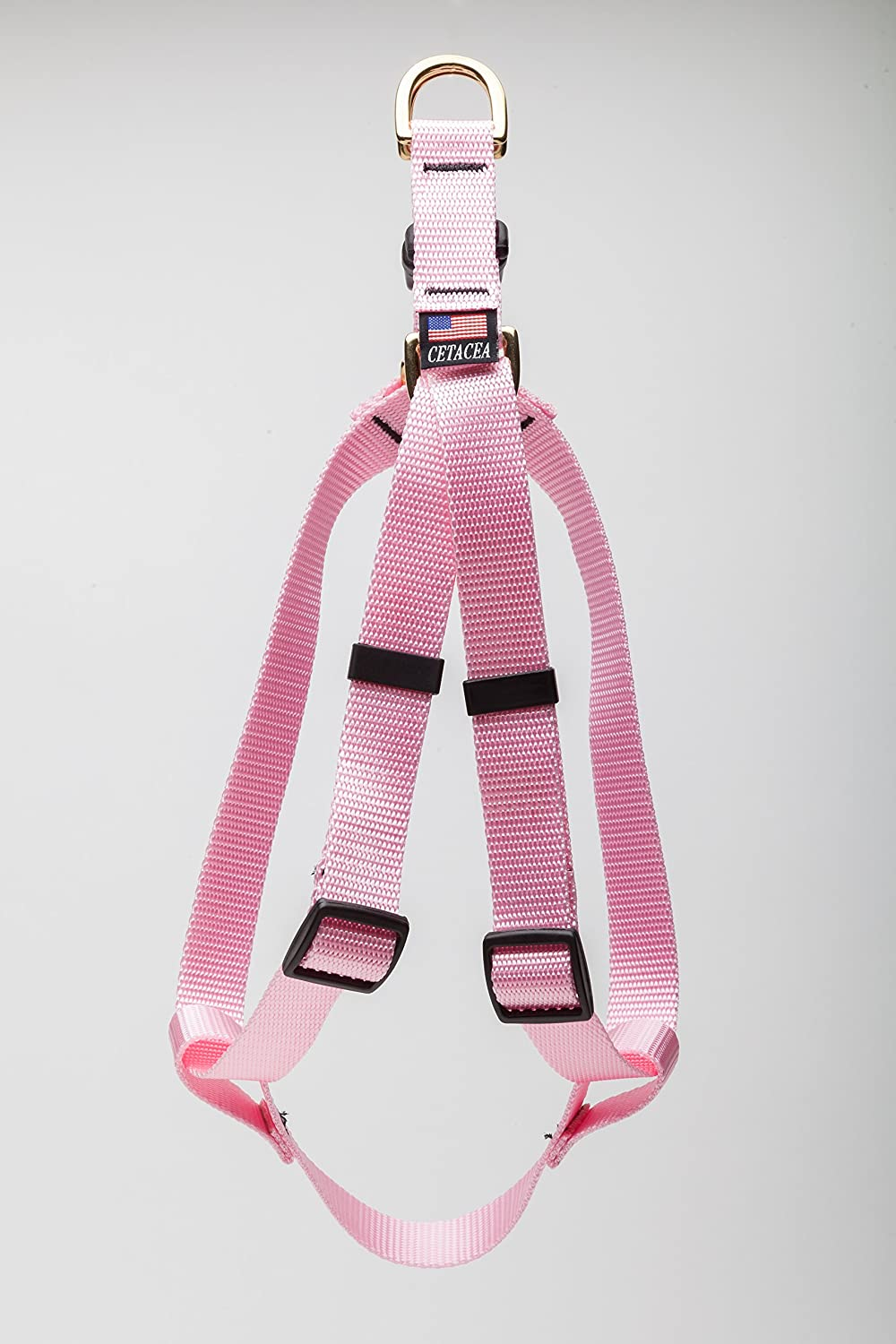 Cetacea Stepin Dog Harness  Baby Pink Size XLarge