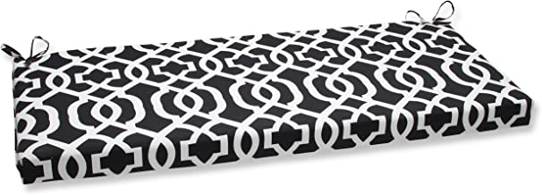 Pillow Perfect New Geo Bench Cushion, Black/White