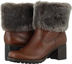 Brown Waterproof Calfskin/Shearling