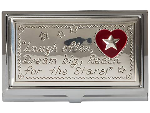 Plata Brighton Joyful Cardcase Esmalte Heart f8vqxt8