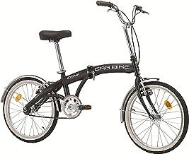 Bicicleta plegable «Car Bike» de acero, 20pulgadas, color negro