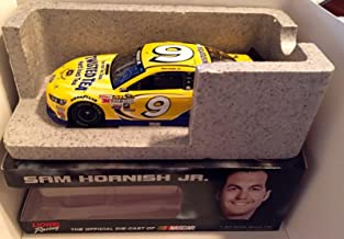 2015 Richard Petty The King Signed Sam Hornish Jr Twisted Tea 1/24 Diecast Car - Autographed Diecast Cars