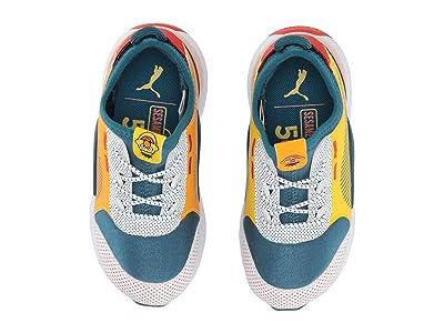 Puma Kids Sesame STR 50 RS-0 Slip-On (Toddler) (Veiled Rose/Blue Coral/Dandelion) Kids Shoes