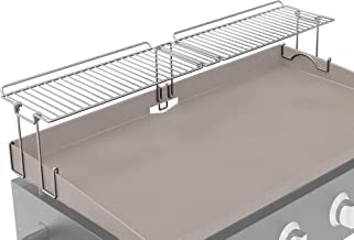 Yukon Glory, New and Improved Griddle Warming Rack, Steel, Easily Clips On, Compatible with Blackstone 36 Inch Griddles