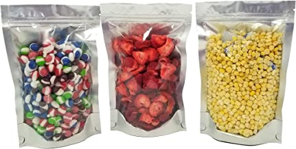 Clear Front Resealable Mylar Bags - 5 Mil - 6