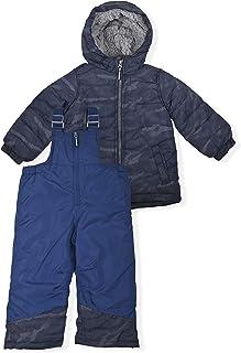 Arctic Quest Boys Reflective Snowsuit, Navy, 18M