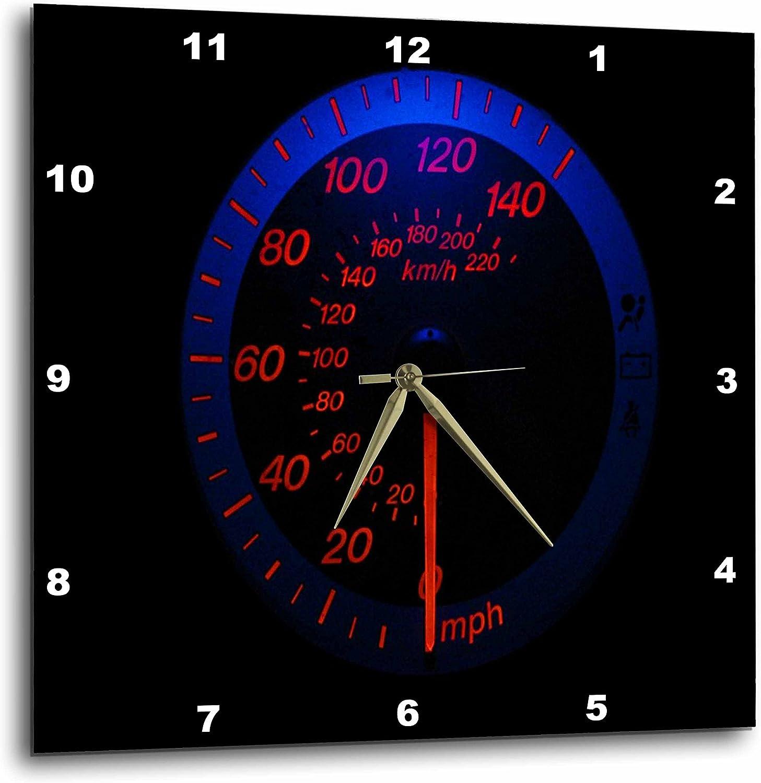 3dRose Denver Mall Wholesale DPP_80570_2 Auto Speedometer Glows Wall in The Clock Dark