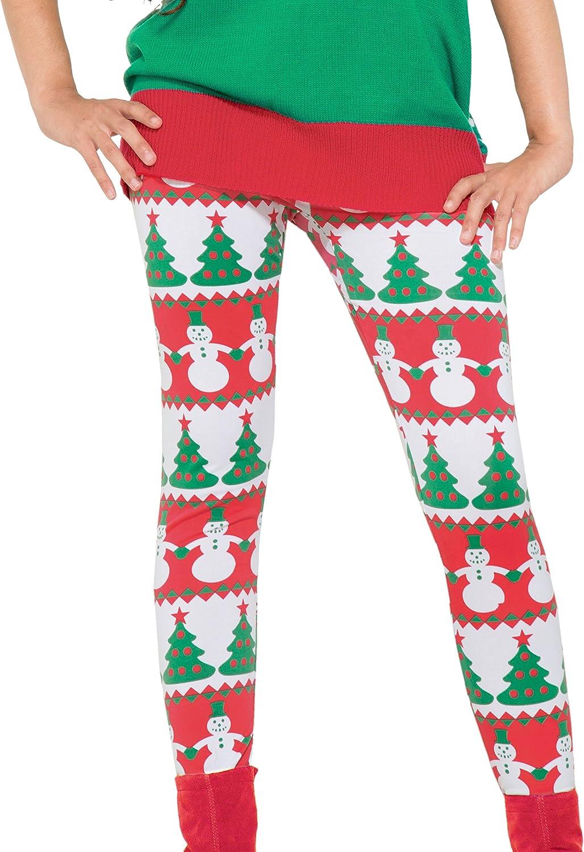 Booml Christmas Snow Leggings