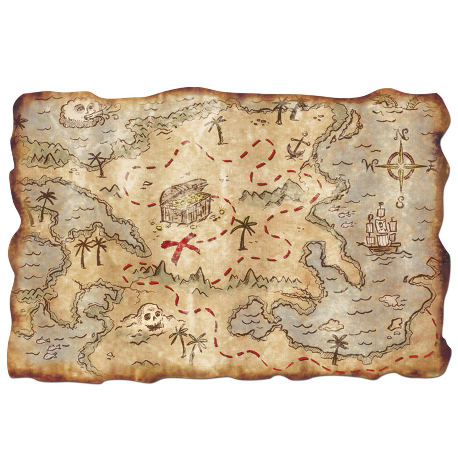 treasure map for kids