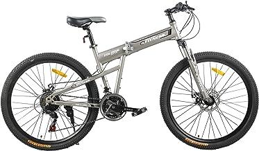 Fitness Minutes Folding Bike, Grey, FM-F26-03S-GR