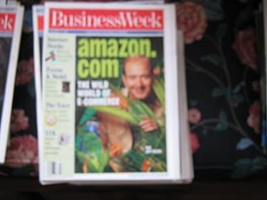 Business Week Magazine (AMAZON.COM ...Jeff Bezos , E-Commerce , Internet Stocks , Exxon & Mobil , Y2K)