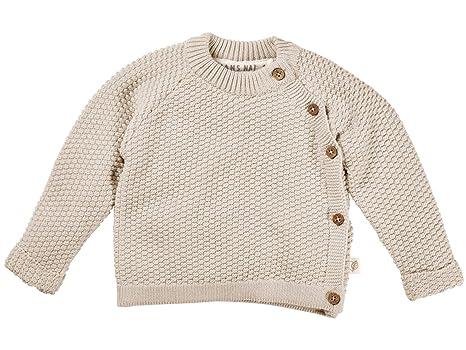 kbA Bio Baby Perlen J/äckchen 100/% Bio-Baumwolle GOTS zertifiziert 50//56 Ecru