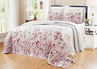 NEWLAKE Airplane Bedding Quilt Sets-2 Pieces of Bedspread Coverlets Twin Size