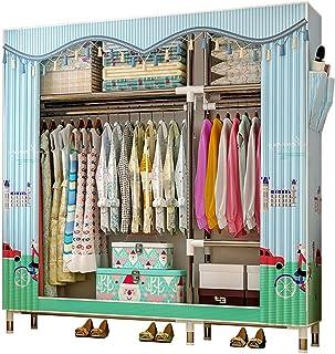 BGROESTWB Placards Pliables Armoire Rangement Rangement vêtements Portables armoires armoires pour Les Sacs à Vêtements (C...