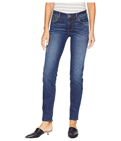 KUT from the Kloth Diana Skinny Jeans in Engaged (Engaged/Dark Stone Bash Wash) Women