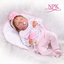 Redland Art Redland Art 48CM Bebe Realistic Reborn Premie Baby Doll Hand Detailed Painting Pinky Look Full Body Silicone Anatomically Correct