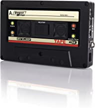 Reloop USB Mixtape Recorder with Retro Cassette Look, Black (TAPE)