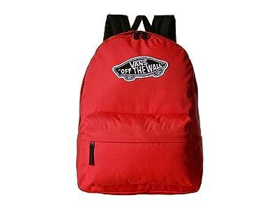 Vans Realm Backpack (Poppy Red) Backpack Bags