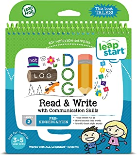 LeapFrog LeapStart Read and Write with Communication Skills Activity Book