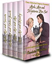 Lords, Love and Mysteries Box Set (Books 1-4) (Large Print): Clean Historical Regency Romance