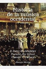 Historia de la música occidental: Novena edición Paperback