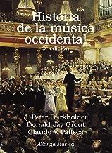 Historia de la música occidental: Novena edición (Alianza Música (Am))