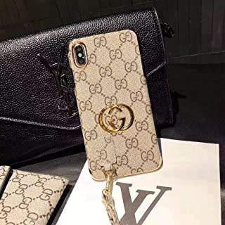 iPhone Xs Case,iPhone X Case,Elegant Classic Designer Luxury Protection Case with Lanyard for iPhone Xs,iPhone X