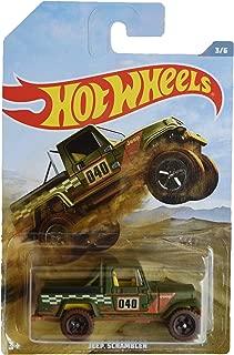 Hot Wheels Jeep Scrambler 3/6, Green