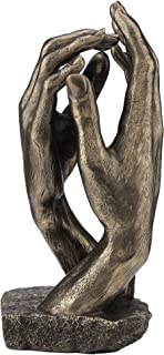JFSM INC. Rodin's The Cathedral Hand Sculpture - Perfect Wedding