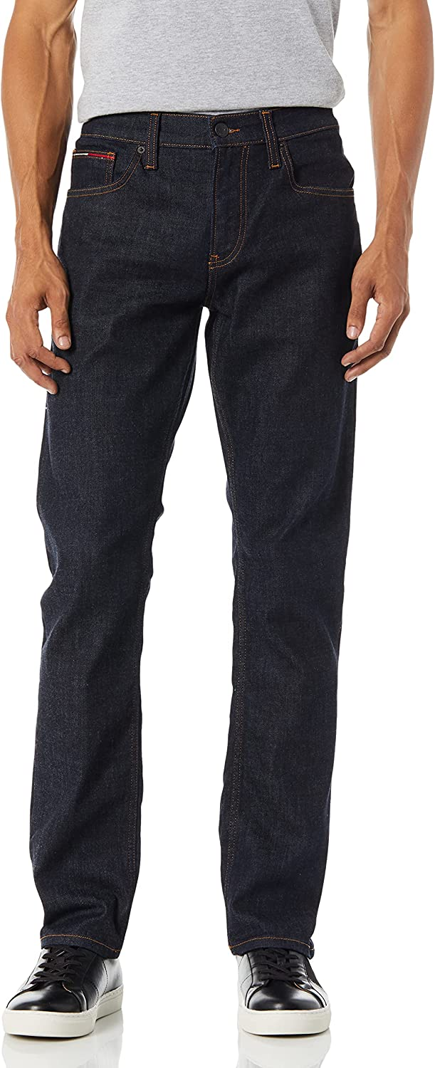 Tommy Hilfiger Denim Men's SEAL limited product Jeans Free shipping Jean Original Ryan Straight Fit
