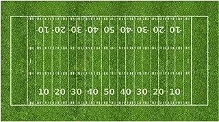 Football Field Edible Icing Image Cake Topper (1/2 Sheet)