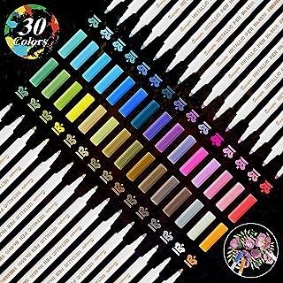 YITHINC 30 ColoresRotuladores de Pintura Acrílica para