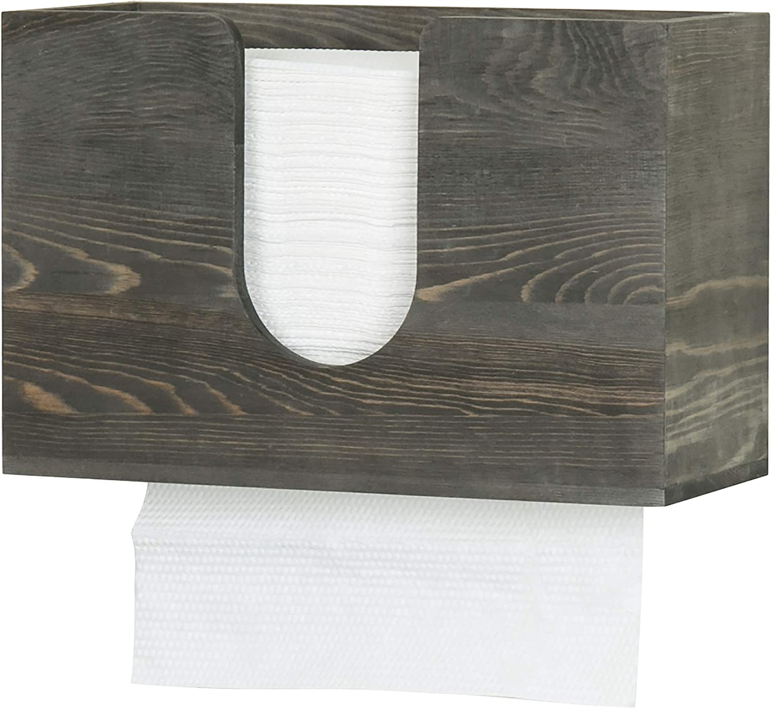 MyGift Colorado Miami Mall Springs Mall Vintage Gray Wood Multifold C Pape Fold Z Trifold