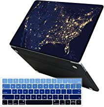 MacBook Pro 13 Case 2019 2018 2017 2016 Release A2159/A1989/A1706/A1708, iCasso Hard Case Shell and Keyboard Cover for Apple New MacBook Pro 13