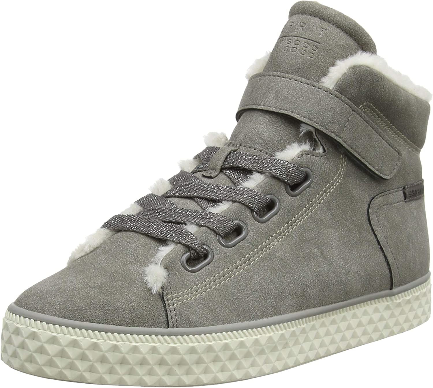 ESPRIT Women's Indya 1 Tape Hi-Top Trainers